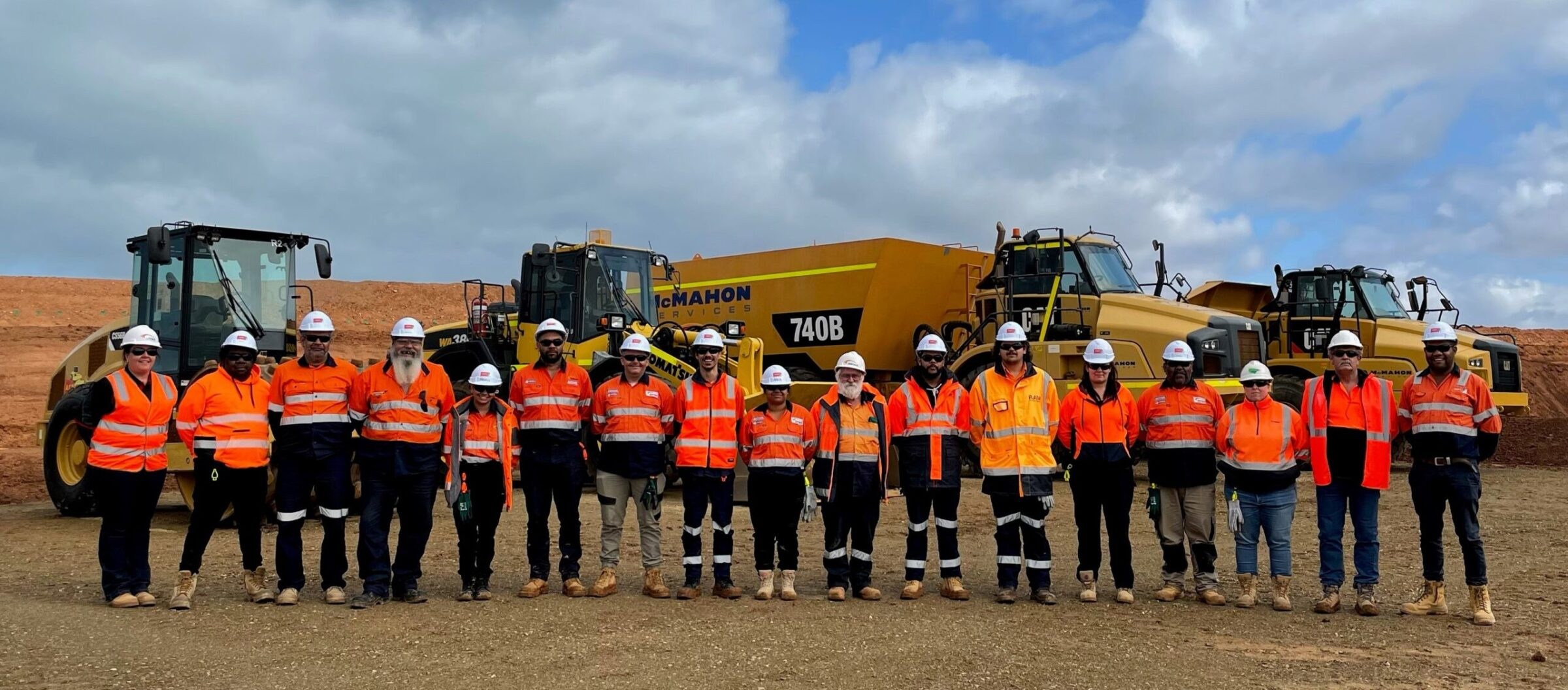 Road Upgrade Leads to Training Regional Long-Term Unemployed
